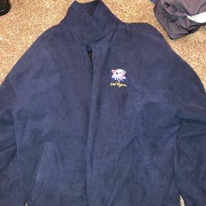 Men's Navy blue zipup jacket